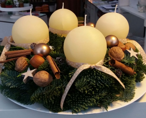 Gärtnerei Kiesewetter - Adventskranz