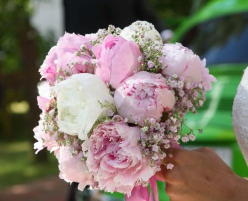 Hochzeit - Brautstrauss Päonien