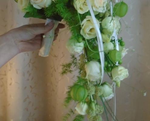 Hochzeit - Brautstrauss hellaprico